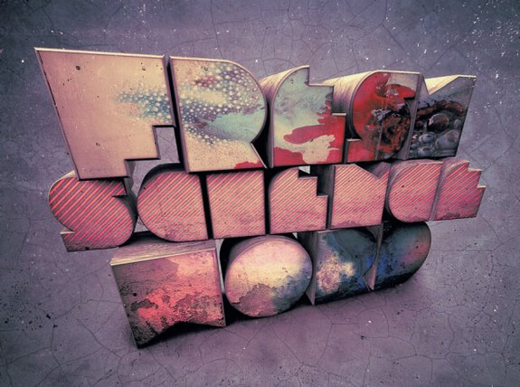 The new way to create 3D text