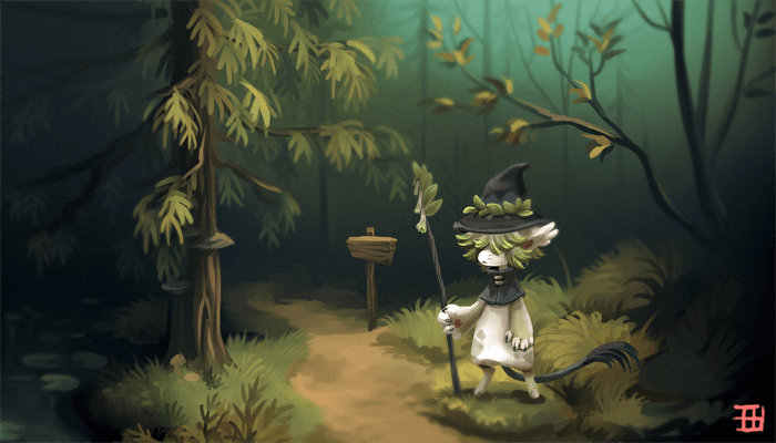 The path by griffsnuff