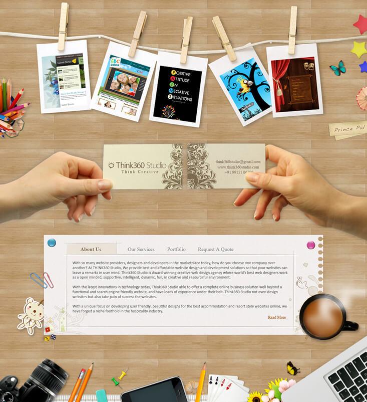 Think360Studio.com - A Web Design Company India by princepal