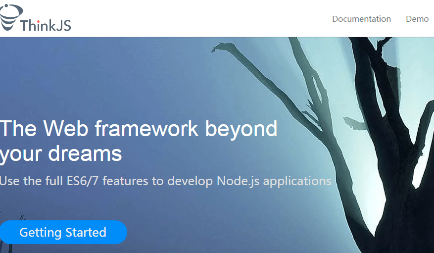ThinkJS - use full features to develop Node js