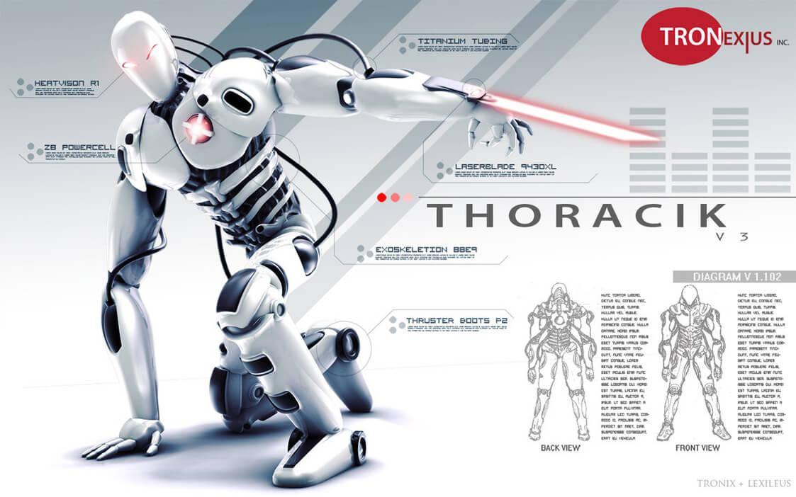 Thoracik v3 by ~TronixGFX