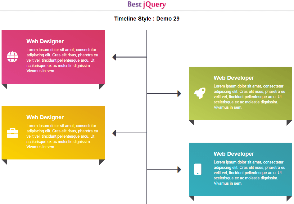 CSS Timeline Style 29