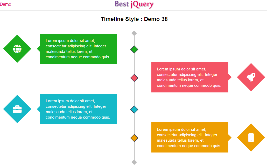 CSS Timeline Style 38