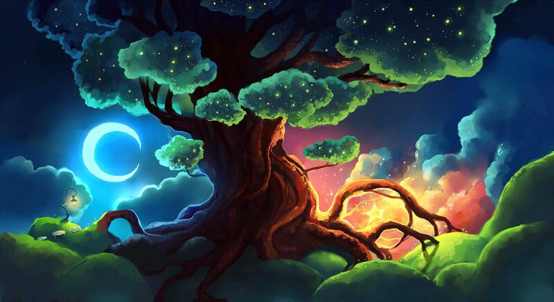 Tree of Stars by Chibionpu
