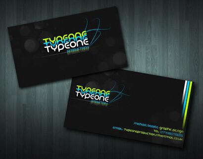 Typeone Prod. Business Card by SaintMichael