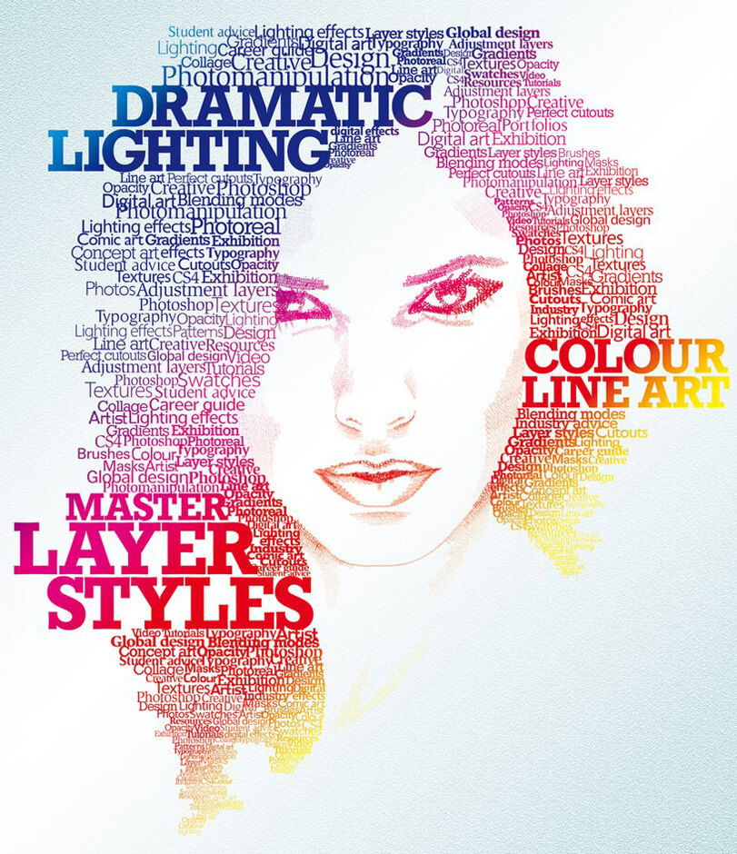 Typographic Portrait by ~staceygrove