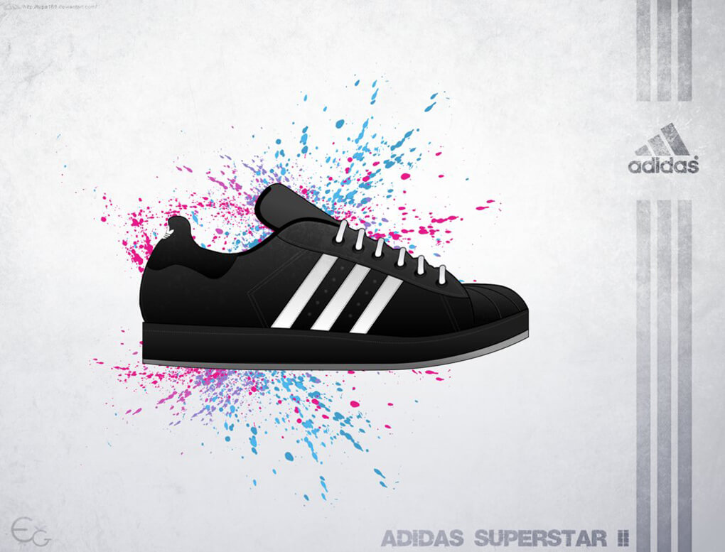Vector Adidas Supersta II by_tupa169
