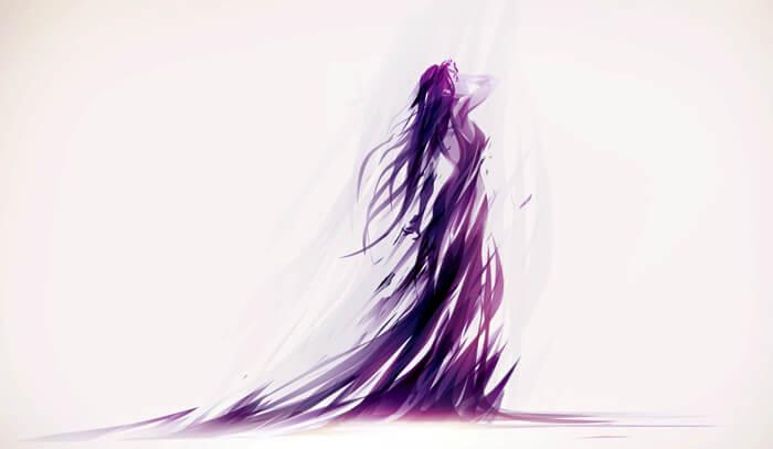 Violent + Violet. by ChasingArtwork