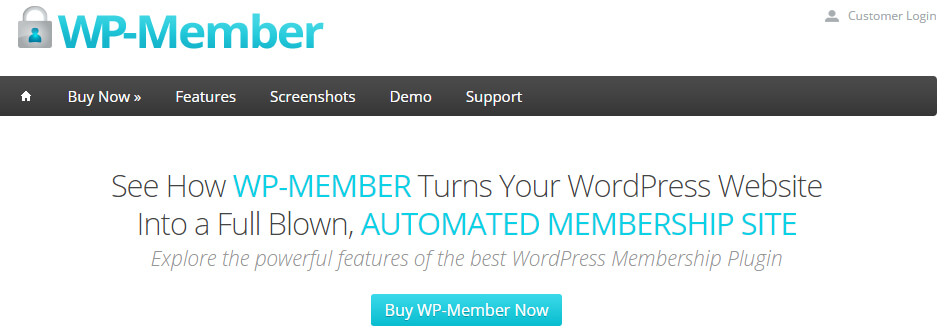 WP-Member WordPress Plugin