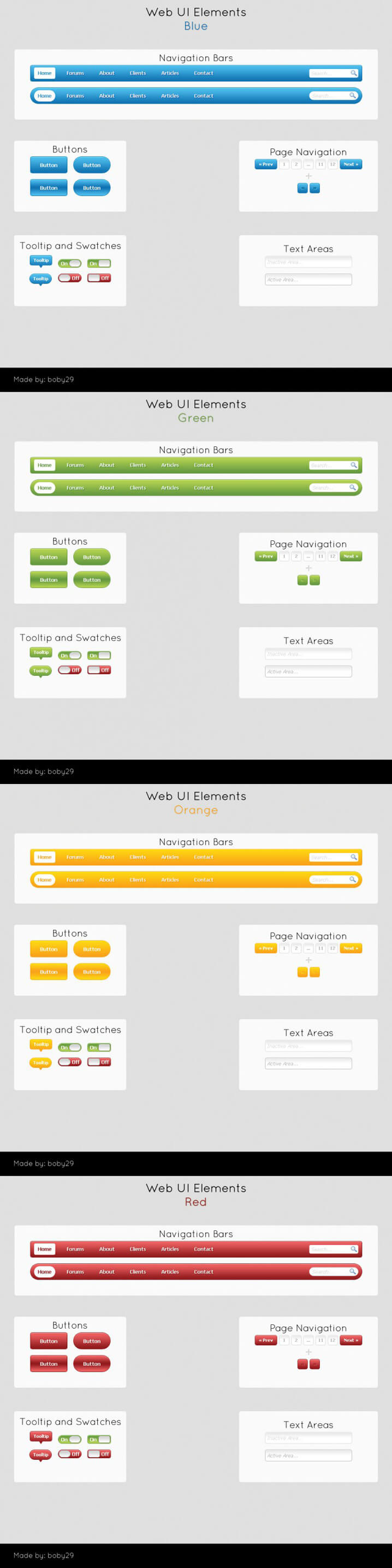 Web UI Pack by ~29boby