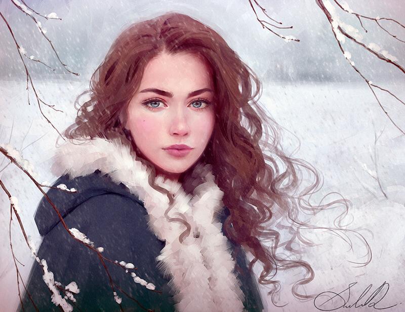 Winter on the Way by Selenada