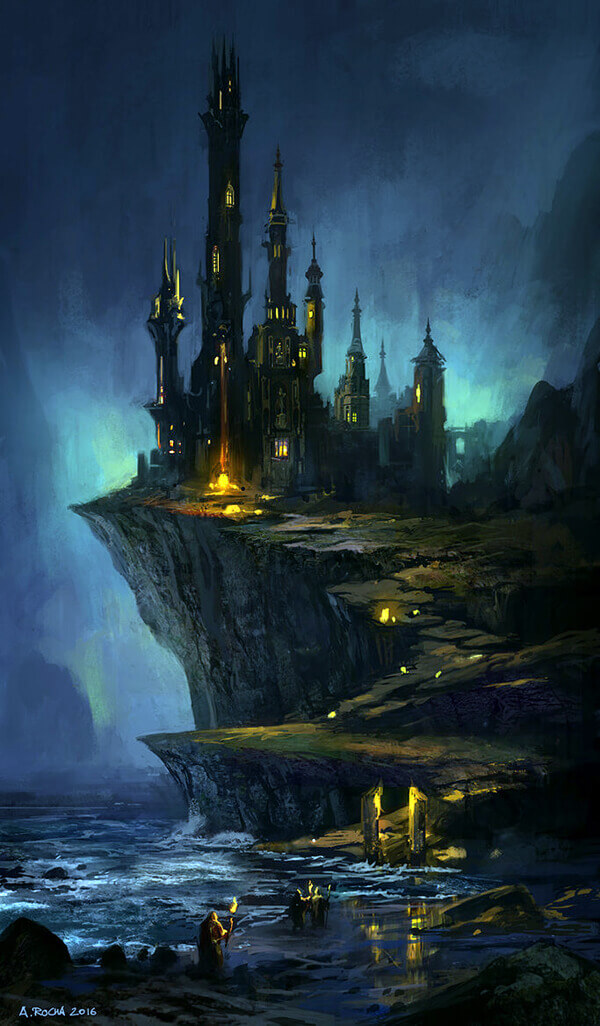Wizard's Castle by andreasrocha