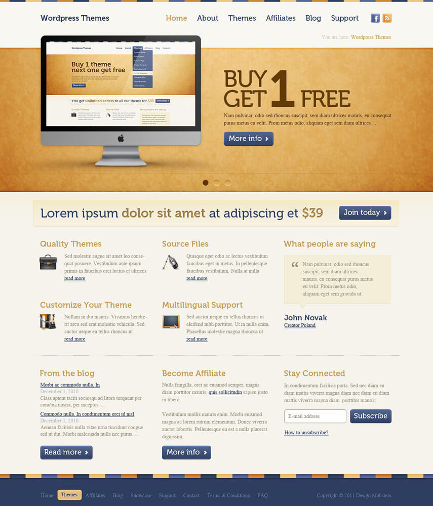 Wordpress Themes by sone-pl