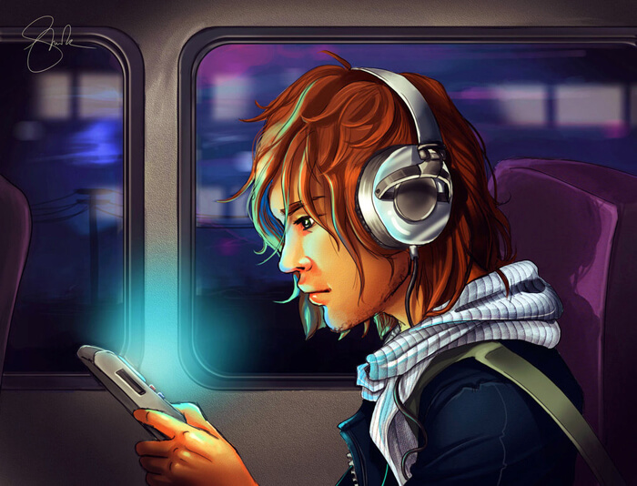 Youtube Train Journey by shellz-art