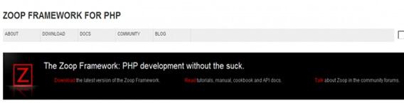 Zoop Fra PHP Framework