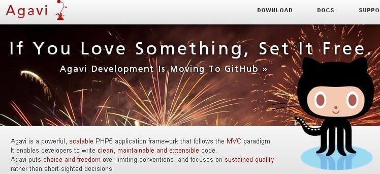 Agavi PHP Framework