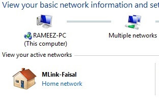 connect as home network