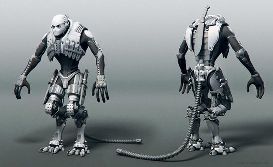 cyborgalien_model by iRj