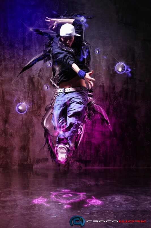 dancer hip hop by temycroco