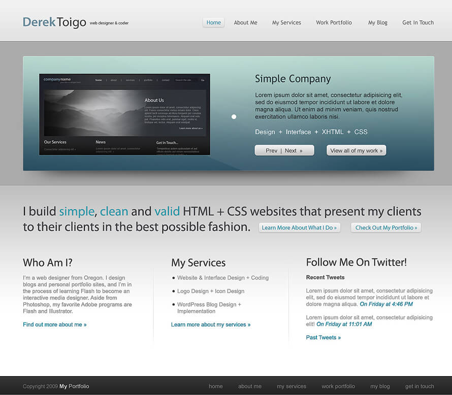 derektoigo.com Homepage v2 by acidflow