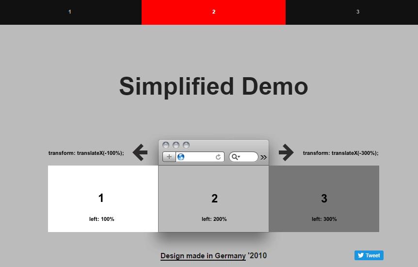 designmadeingermany.de - Pure CSS Slidershow