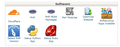 Select PHP version from cpanel