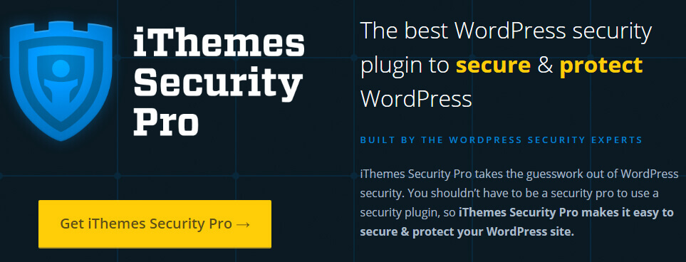 iTheme Security Pro - the best WordPress security plugin
