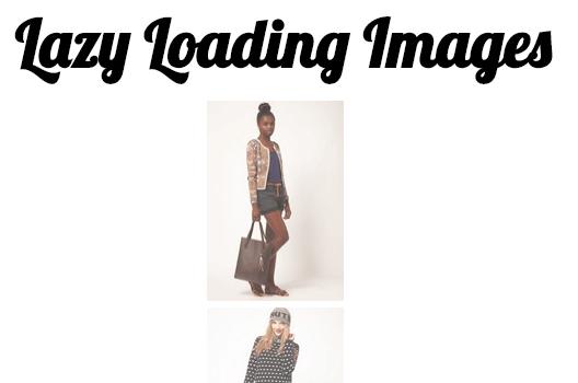 imageoptimzation - Lazy Loading Images