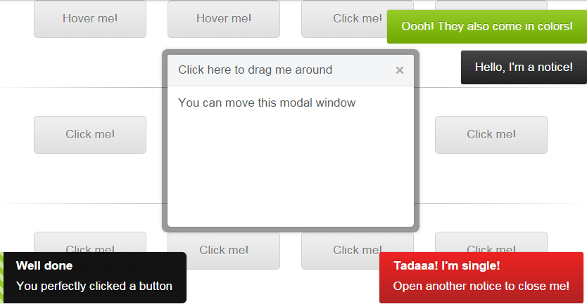 jBox jQuery Plugin for Modal Windows