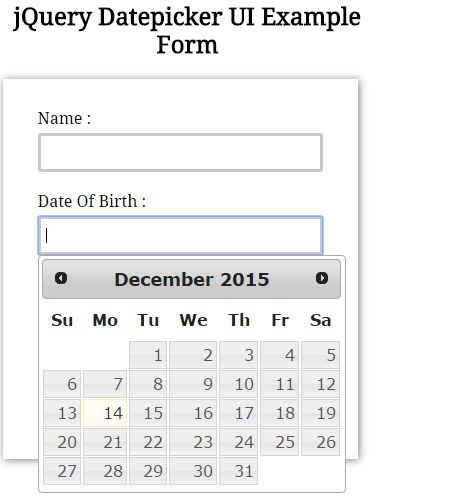 19 jQuery + Bootstrap date picker plugins