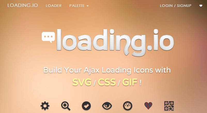 loading.io - Your SVG + GIF Ajax