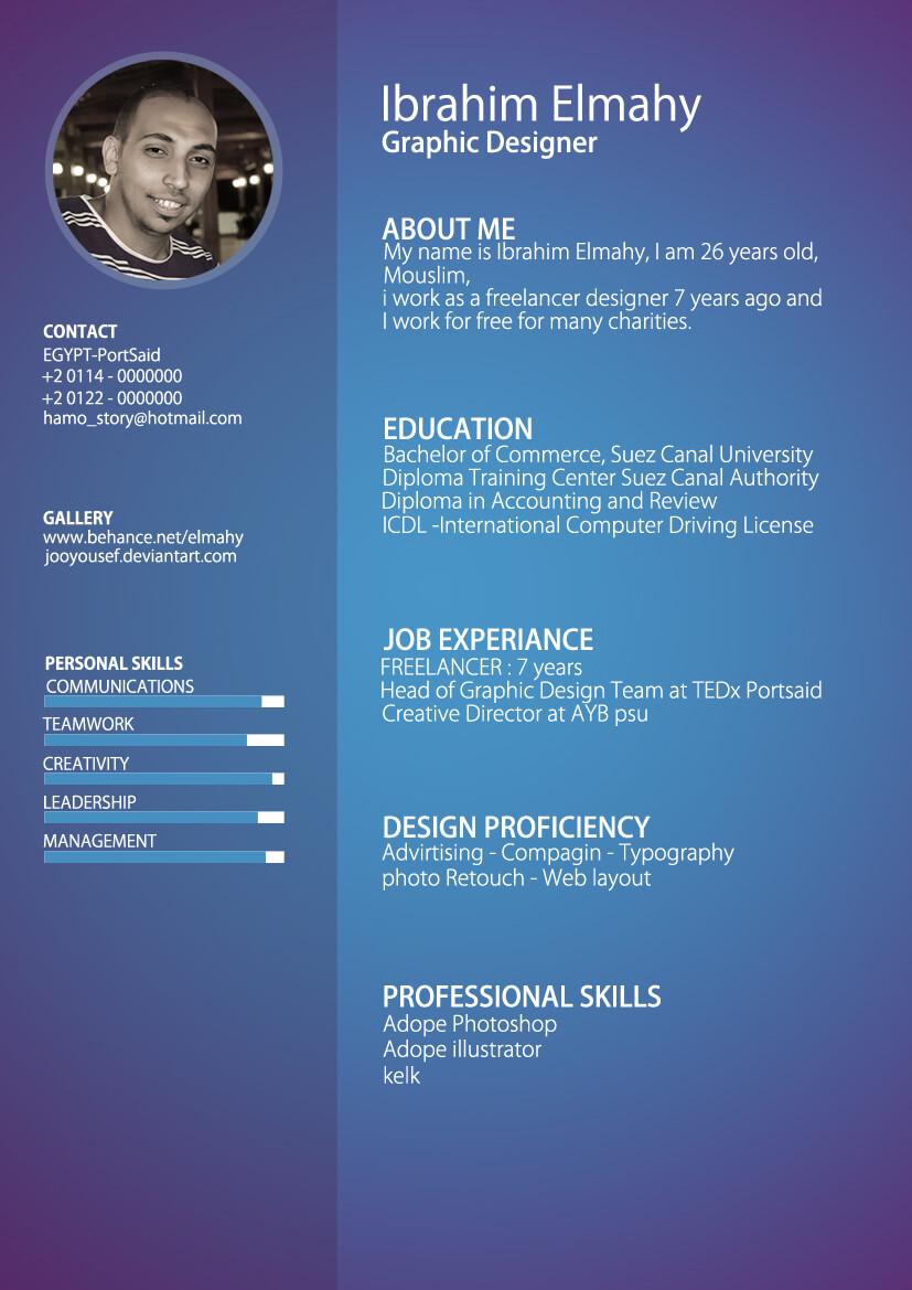 my CV by jooyousef