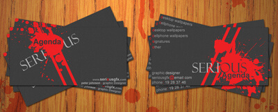my business card by Serious-Agenda