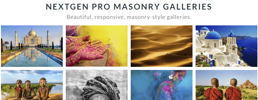 nextgen gallery - nextgen pro masonry galleries