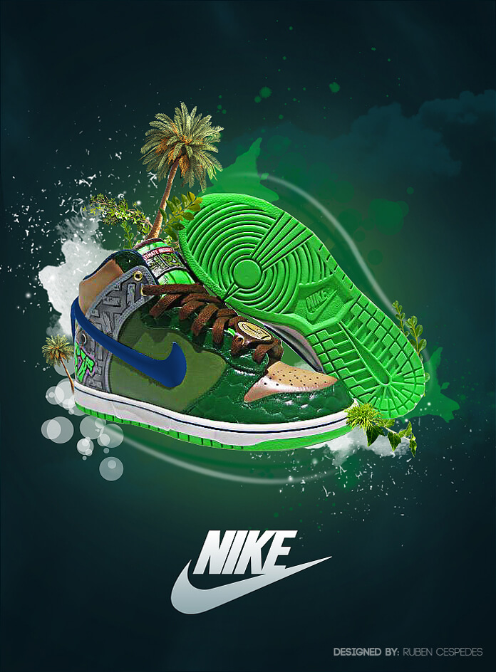 nike ad abstrac _by niti2grafix