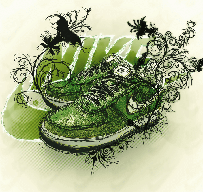 nike shoes by federicovelazco