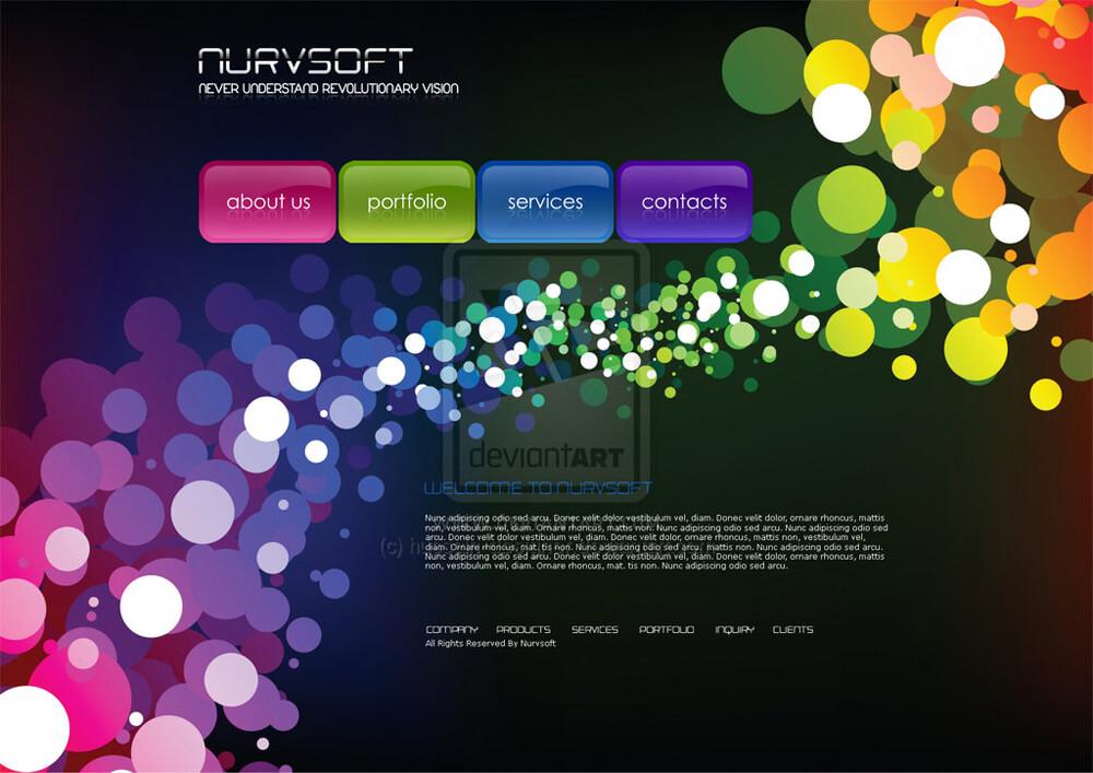 nurvsoft Web designby hussain-designer Hussain Jamali