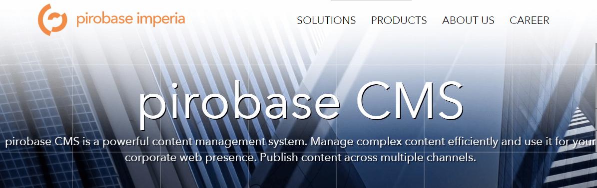 pirobase CMS