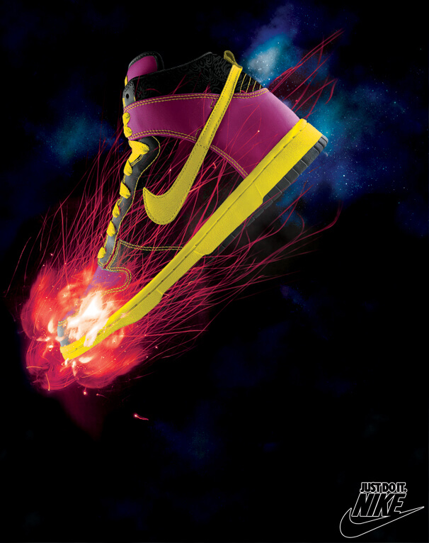 poster a4 nike by carthcore