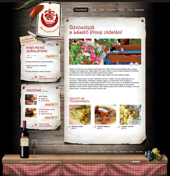 restaurant site by arkantal