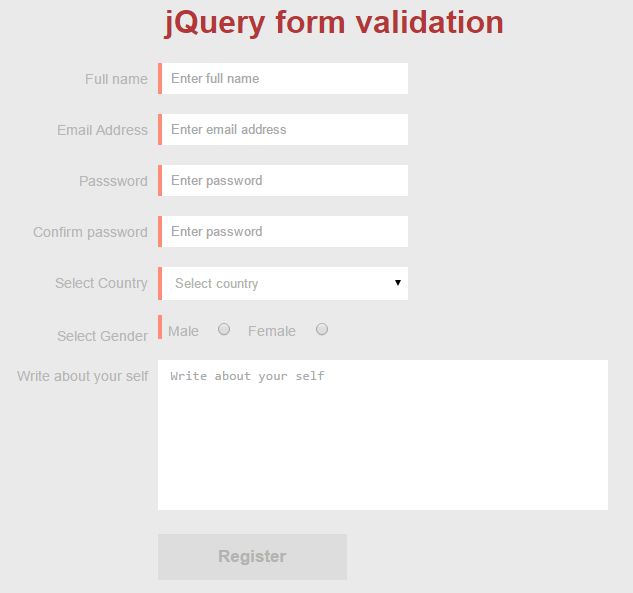 second step preview after adding css