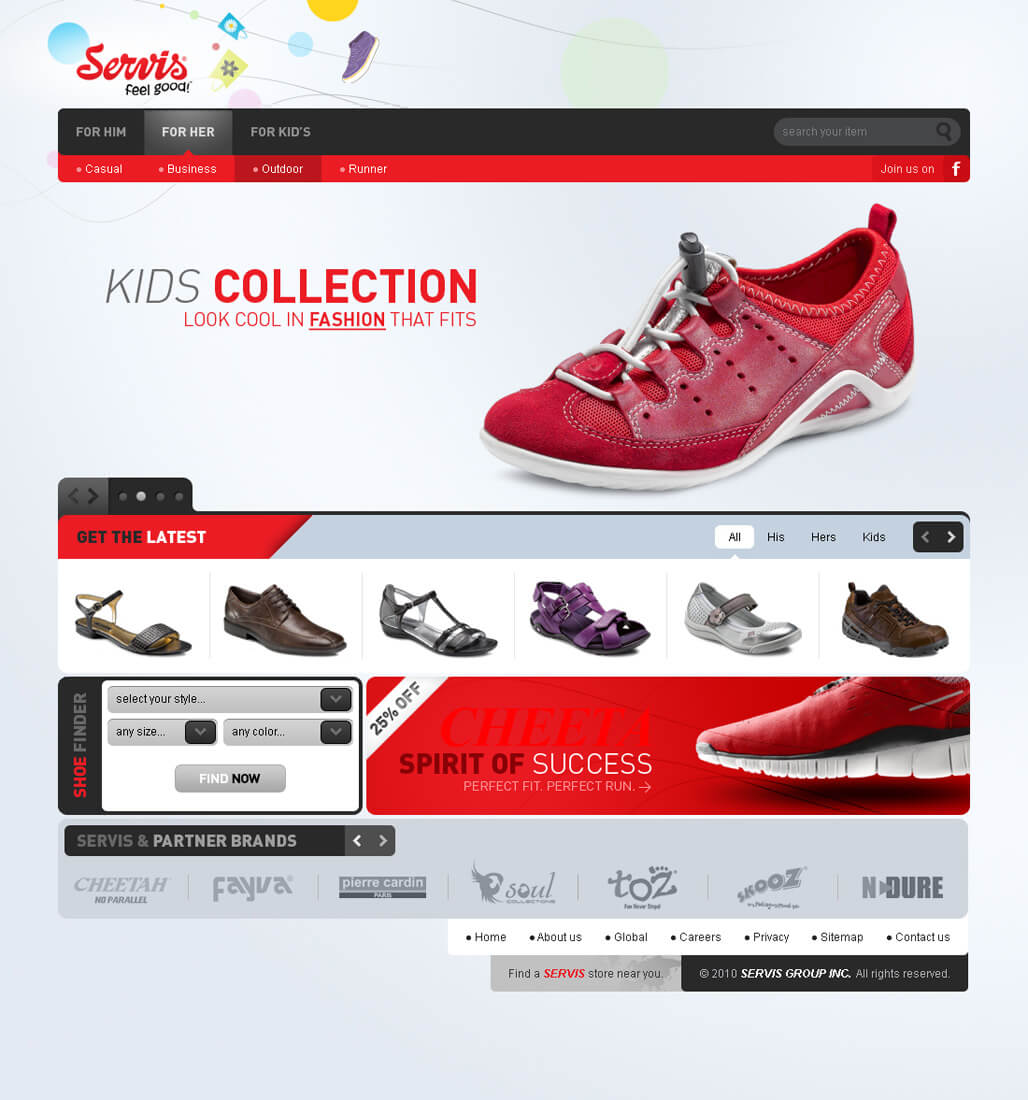 servis Kids Collection servis by ebugz