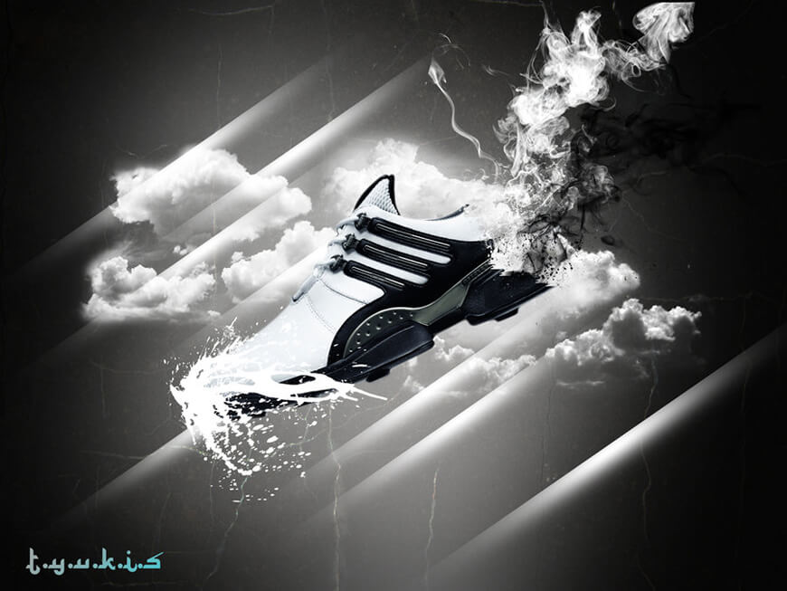 shoes black n white by ~tyukis