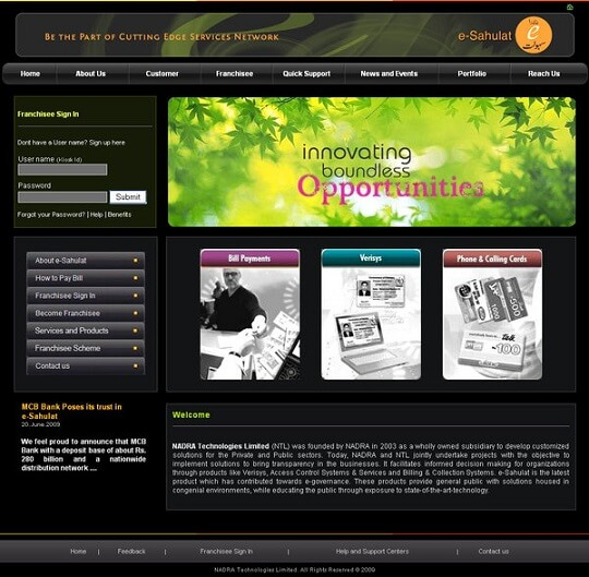 web template651 by satti2008