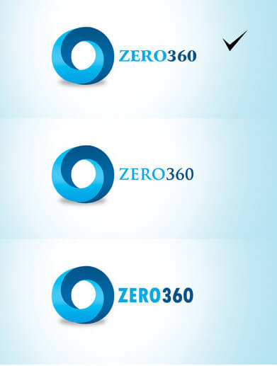 zero360 Logo by Suhaan